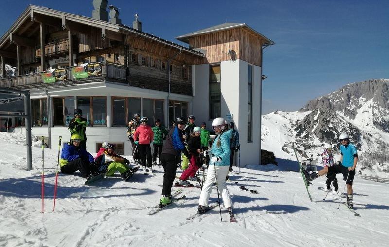 Výběrový lyžařský kurz 2017 - Nassfeld