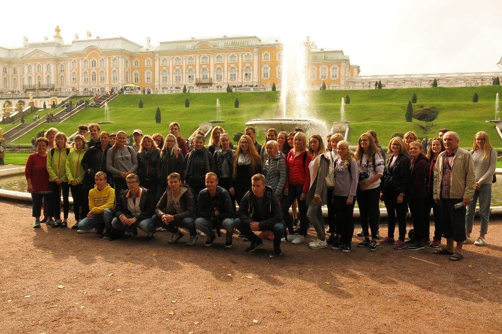 Cesta Pobaltím do Petrohradu